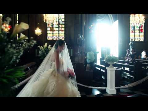 San Sebastian Church + Hotel Sofitel Philippine Plaza Wedding Video (Same Day Edit)