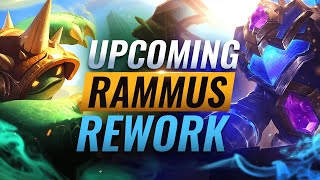 UPCOMING REWORK: Rammus Chaฑges Coming SOON - League of Legends Season 11