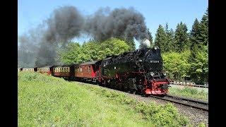DDE085245 Steam trains in the Harz: Dampflok 99-7239 trem a vapor kereta api uap lokomotif wap stim