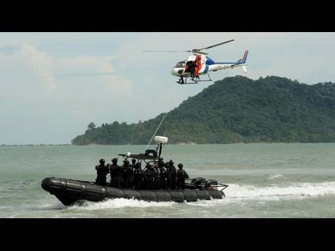 Marine police ready to combat human trafficking in Straits of Malacca