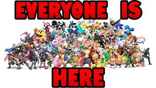 EVERYONE IS HERE! - Thoughts about Smash Ultimate (my comeback)