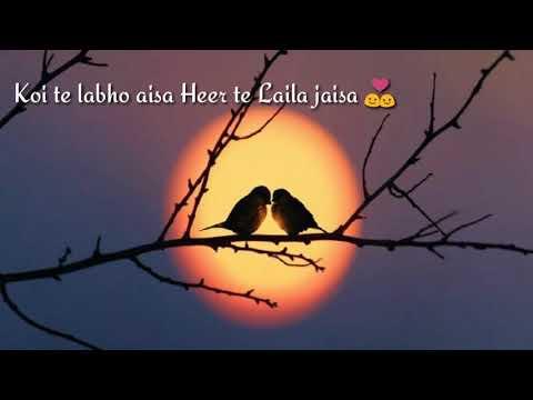 Yaar Ni Milya Hardy sandhu whatsapp status song