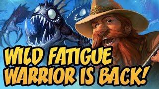Wild Fatigue Warrior Is Back! | Rise of Shadows | Hearthstone