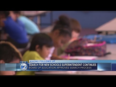 Education board forms search committee for new superintendent