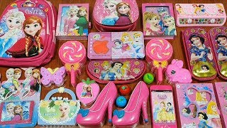 SPECIAL SERIES  PRINCESS FROZEN amp SNOW WHITE  MIXING RANDOM THINGS INTO SLIME  ALI SLIME