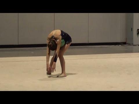 Rhythmic Gymnastics - Jourdan Level 6  Ball Routine 2014 Paws For A Cause Invitationa 2014