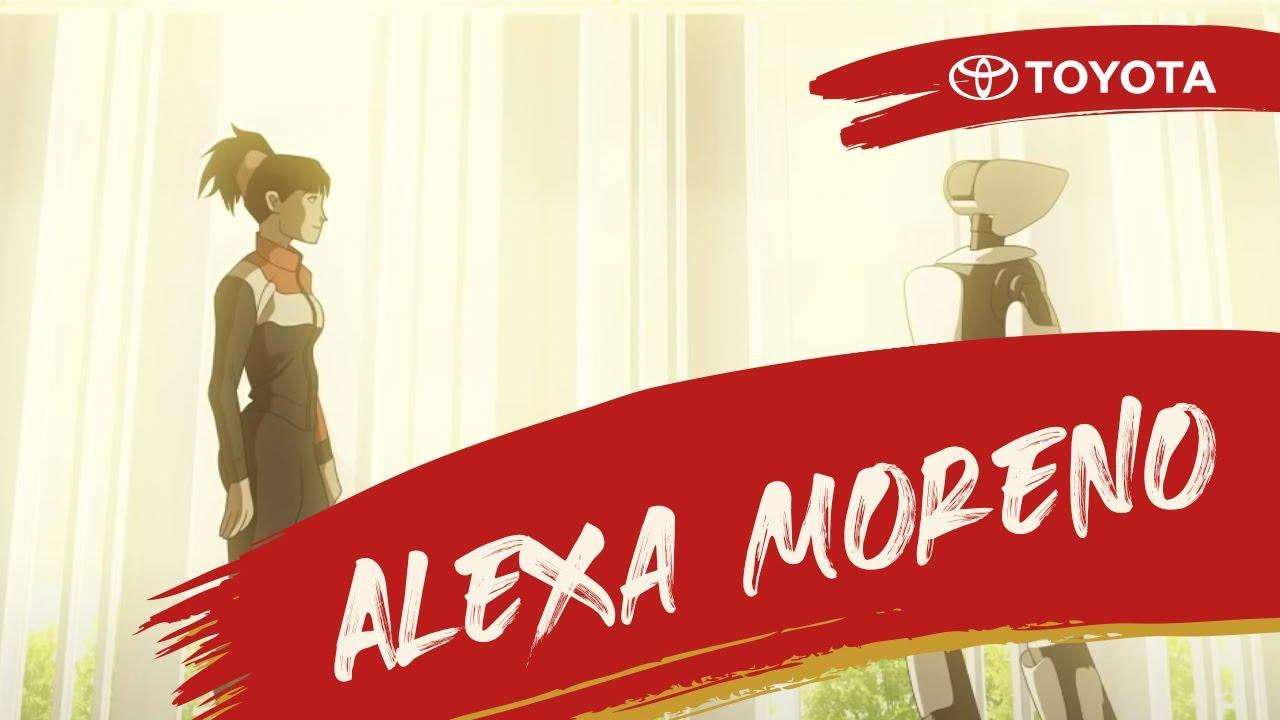 Toyota Team MX - Alexa Moreno en ¿Bailamos?