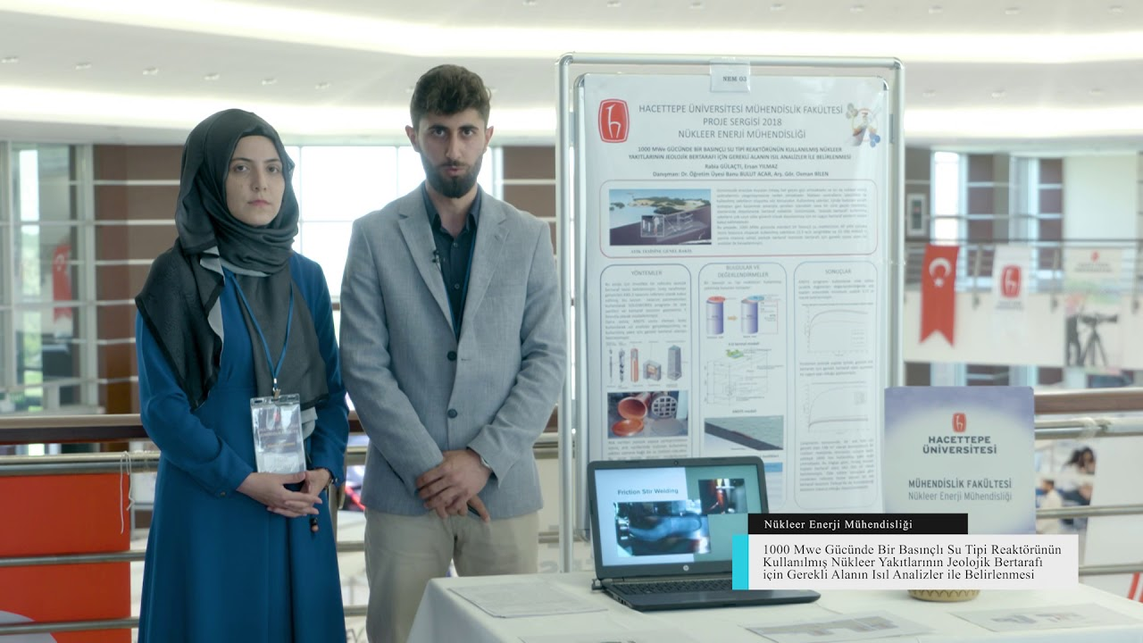 15 Ogrenci Proje Sergisi Nukleer Enerji Muhendisligi Proje Birincisi