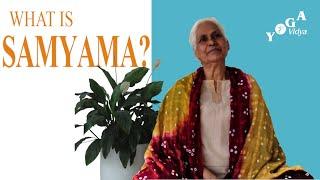 What is Samyama?