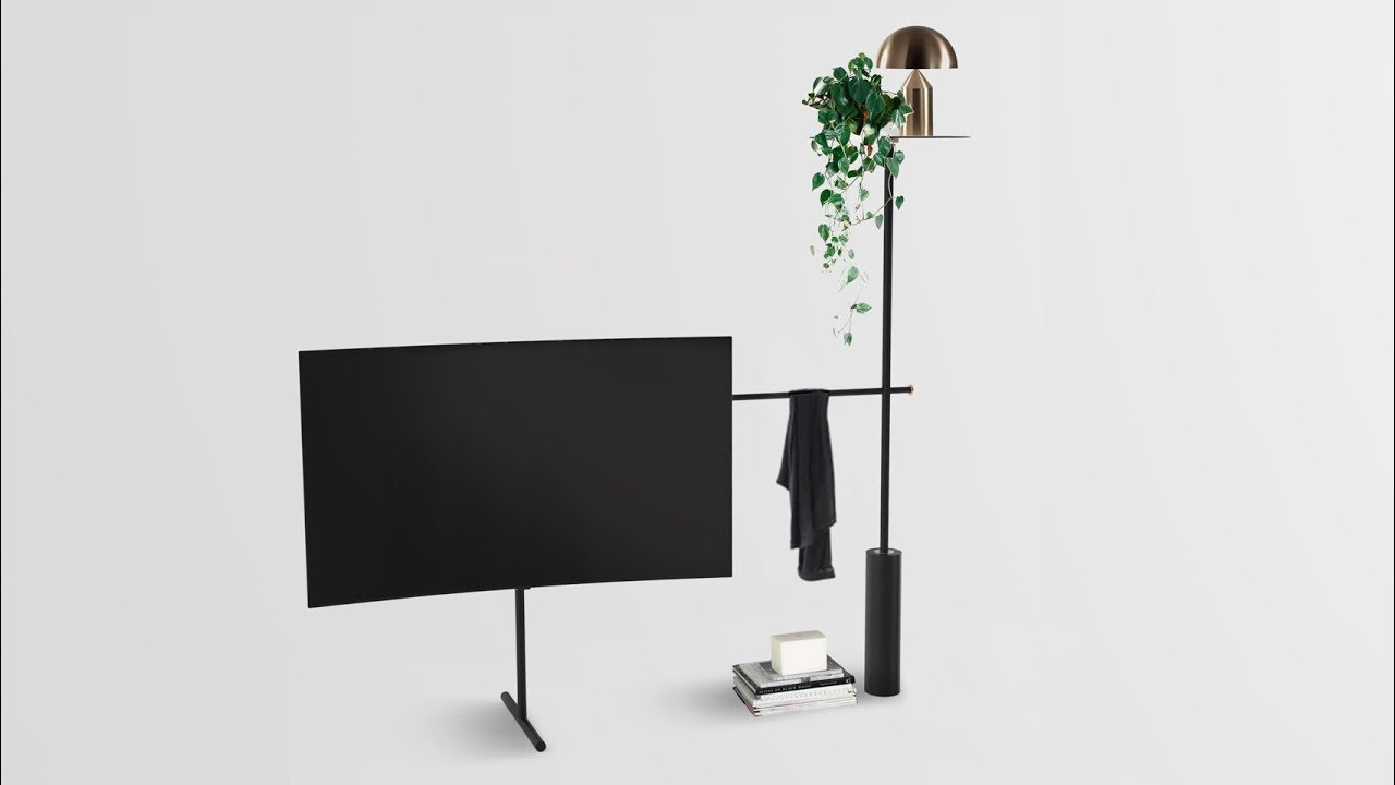 Dezeen And Samsung 39 S QLED TV Stand Design Competition