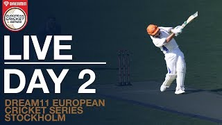 Dream11 European Cricket Series, Botkryka, Stockholm | Day 2