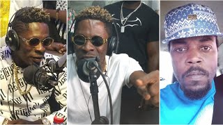 Eeii..Shatta Wale Begs Kwaw Kese for Forgiveness on Live Radio!