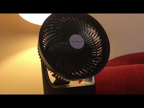 Rowenta 360 Turbo Silence Desk Fan.