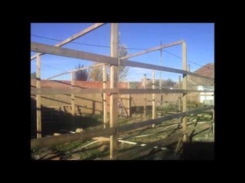 Invernaderos segunda mano como construir un invernadero casero con materiales usados youtube Estructuras invernaderos segunda mano