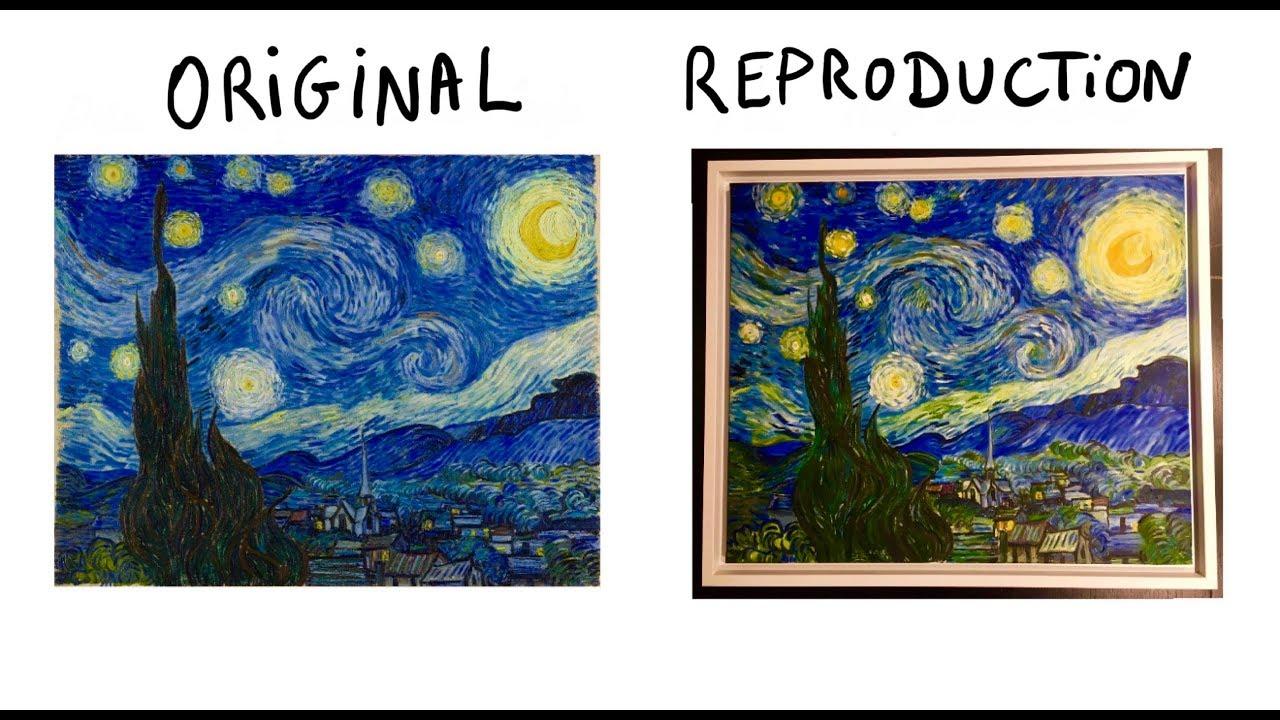 4 Conseils Pour Reproduire La Nuit Etoilee De Van Gogh Reproduction Tableau Youtube