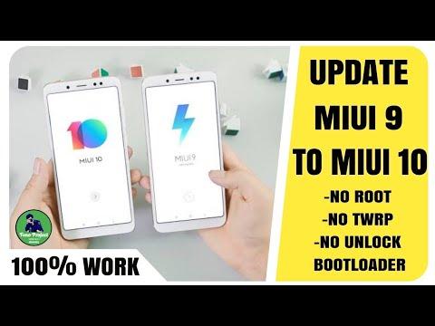 Cara UPDATE terbaru MIUI 9 ke MIUI 10 dengan cara ini 100% work   Update MIUI 10