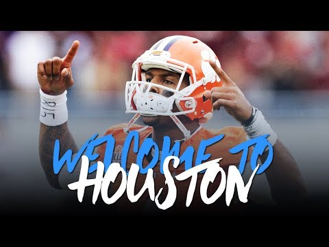 Deshaun Watson 2017; Welcome to Houston (Career Highlights) ᴴᴰ