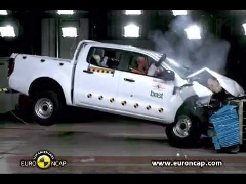 2012 Ford Ranger T6 EuroNCAP Crash Tests (Frontal, Side, & Pole Impacts)