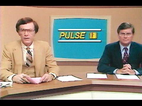 """WTVT PULSE Newscast w Gov Bob Graham news Anchor """"workday"""" Hugh Smith Roy Leep Andy Hardy"""