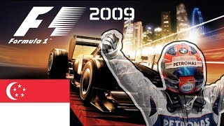 F1 2009 Sezon Robertem Kubicą #13 GP SINGAPURU
