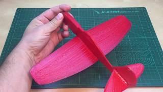 видео: 3D печать и авиамоделирование. Fusion 360 Tutorial: How to Model a plane. Filament tests.