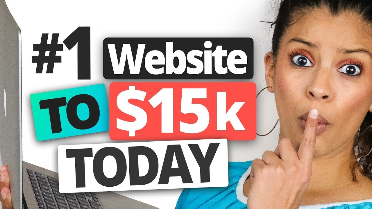 The #1 Website To Make $15,000 & Build Your Income Streams TODAY | Marissa Romero