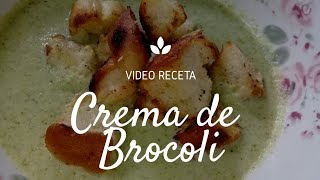 Crema de Brocoli super facil ¿Como Preparala?