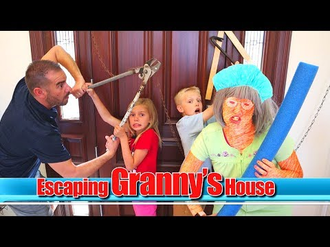 Granny Game with the Tannerites! / #TheBeachHouse