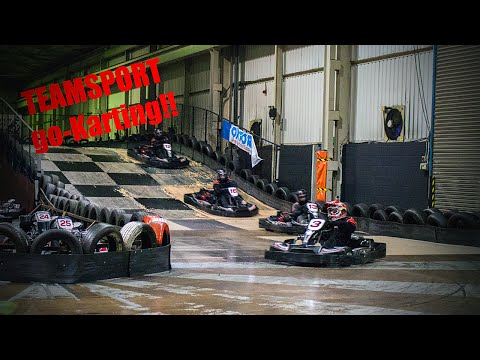 "Teamsport Go-Karting, Cardiff   ""Best Overtakes"" : GoPro Hero3+"