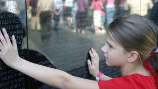 The Wall-Tribute to the Children of Veterans