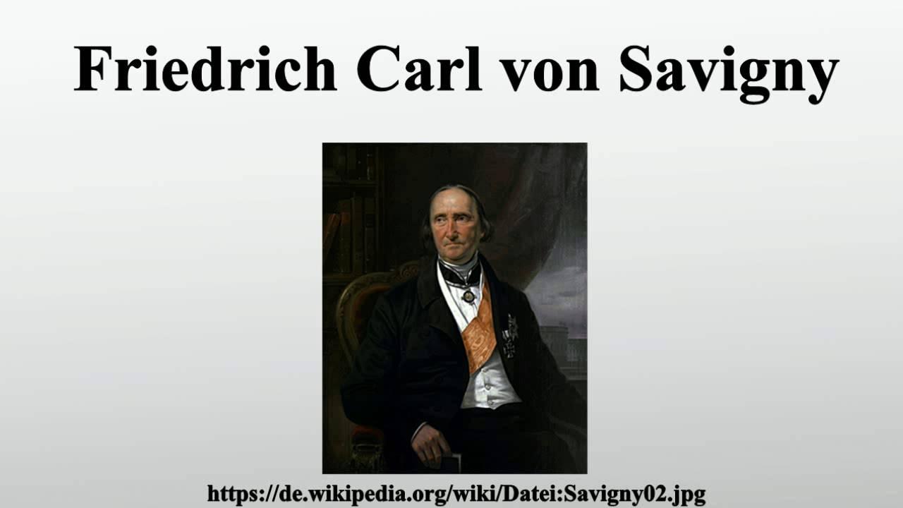 FRIEDRICH CARL VON SAVIGNY DOWNLOAD