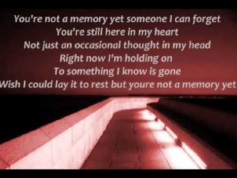 Rebecca Lynn Howard - You're Not A Memory Yet ( + lyrics 1999)