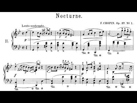 Chopin: Nocturne Op.37 No.1 in G Minor (Moravec)