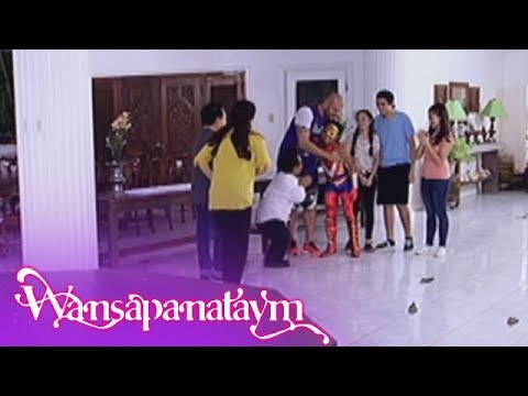 Wansapanataym: Super Ving happily reunites with family