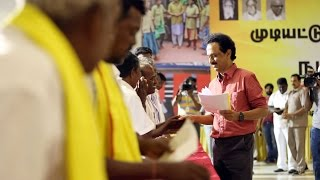 Namakku Naame Day 17: Thalapathy MK Stalin interacts with people in Erode