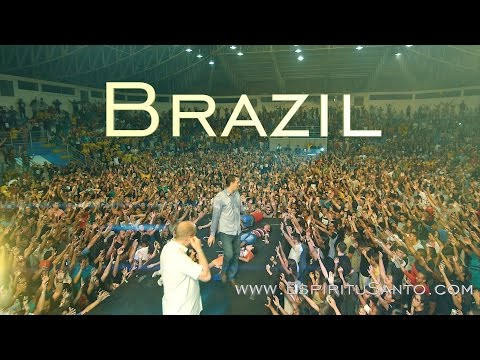 Fire of Holy Spirit falling upon youth in BRAZIL!!