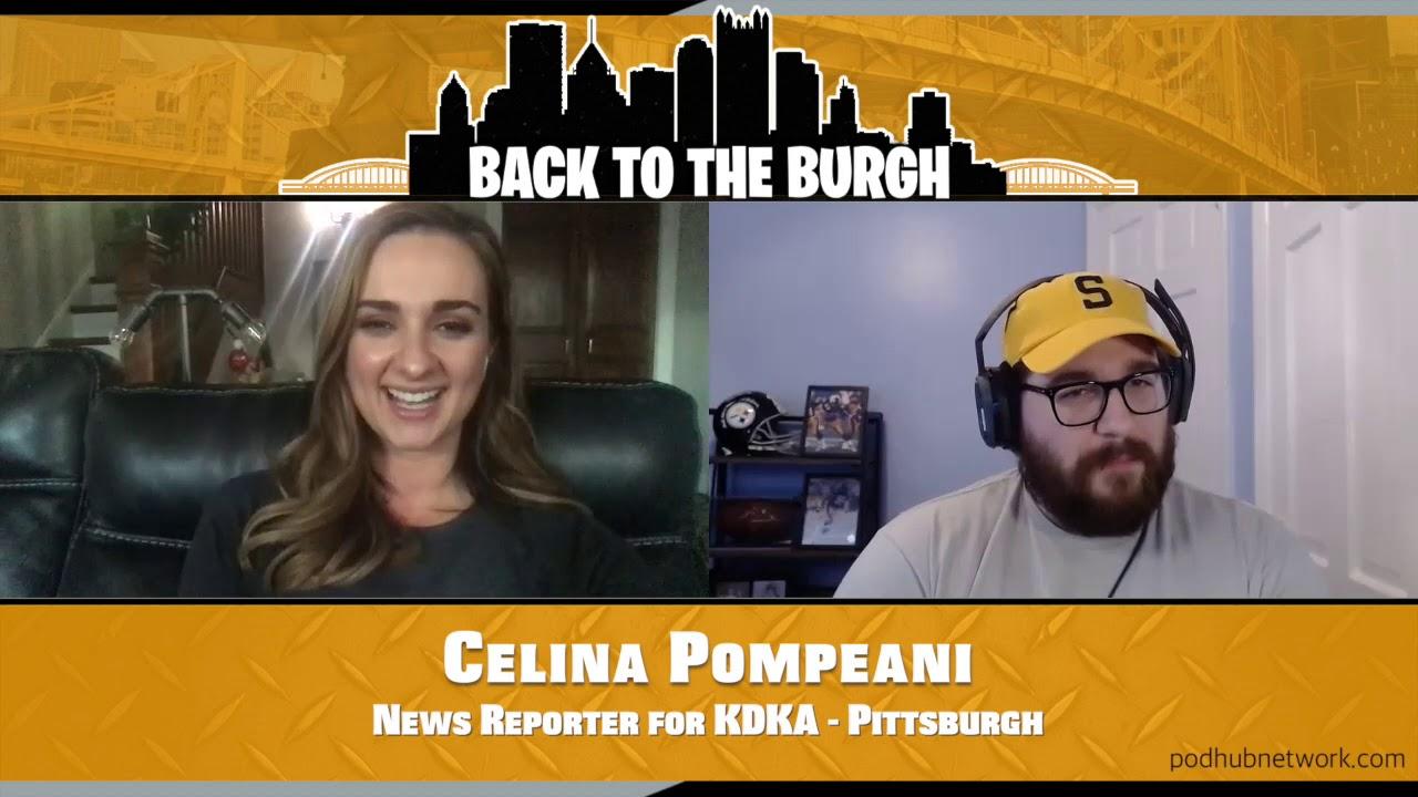 Back To The Burgh - KDKA News Reporter Celina Pompeani