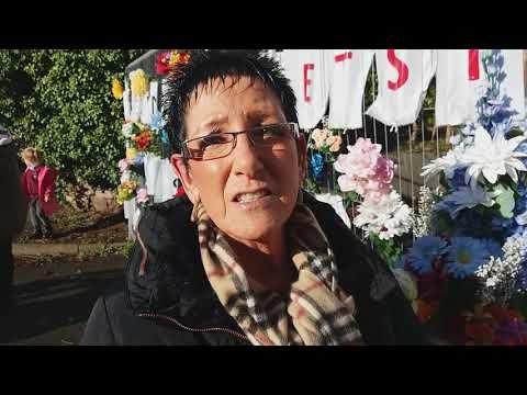 Families remember loved ones at former Community Hospital, Flint