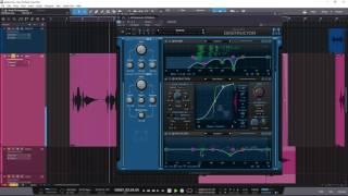 Blue Cat's Destructor Mixing Vocals