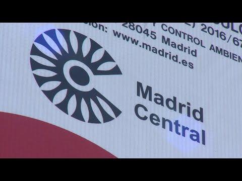 Las multas seguirán en Madrid Central por decisión de la Justicia