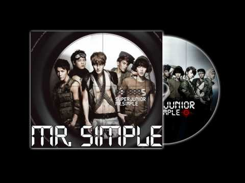 Super Junior - Mr. Simple (Audio)
