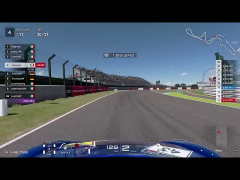 First race ESport Italia onboard at Suzuka