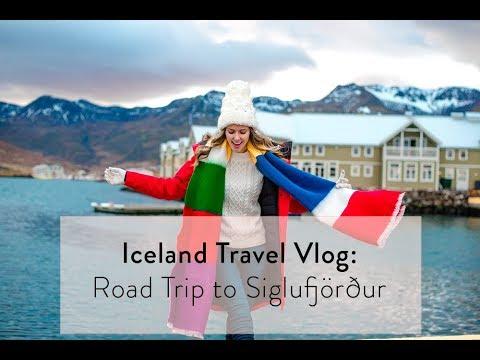Iceland Travel Vlog: Roadtrip to Siglufjörður