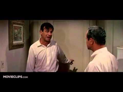 The Odd Couple 78) Movie CLIP   Oscar Breaks Down (1968) HD