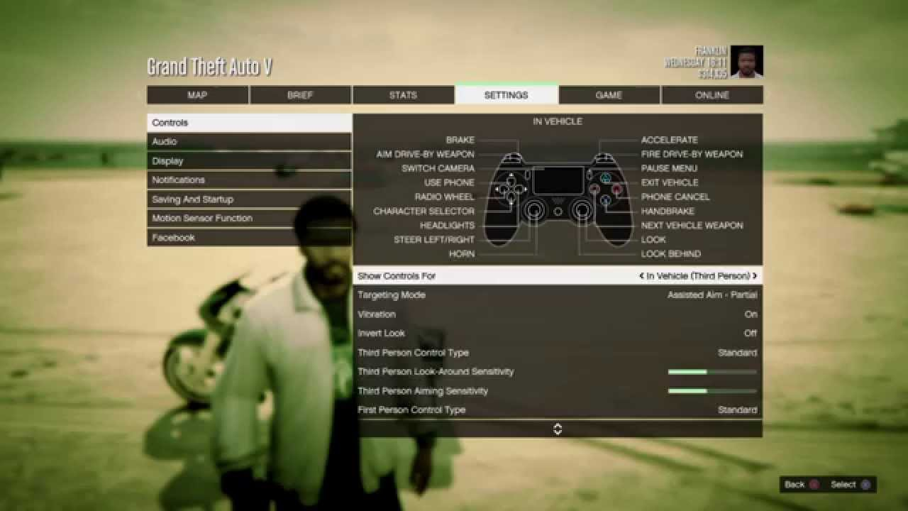 gta 5 xbox one pc settings