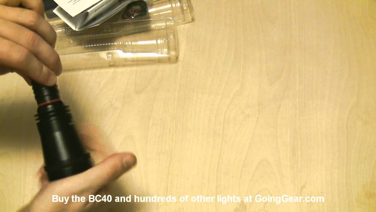 JETBeam BC40 LED Flashlight Review