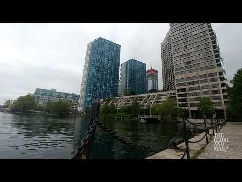 Flooding in Toronto has reached condos on Lake Ontario