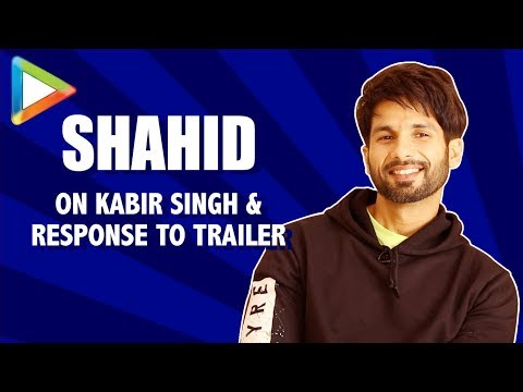 Shahid Kapoor On Kabir Singh, Intense Response to Trailer, Plot Driven film vs Character Driven film Mp3