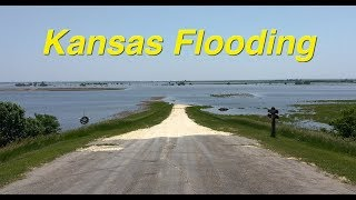 North Central Kansas, Flooded Farmland.