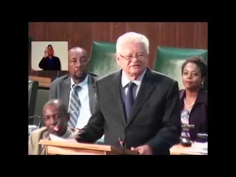Sectoral Debate Presentation by Hon. Karl Samuda - June 07, 2016